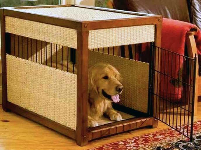 Trucos y consejos para adiestrar a un perro con una jaula for Jaulas de perros